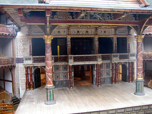 Londres - Tour Globe Theatre de Shakespeare