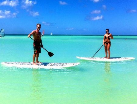 Pta Cana -  Lecciones de stand up paddle boarding